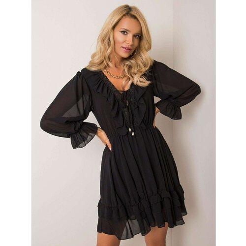 Fashionhunters OH BELLA Crna haljina za žene  Cene