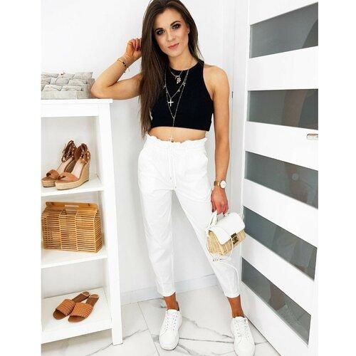 DStreet Ženske hlače Mom Fit LEO bijele UY0511 crne bijela Slike