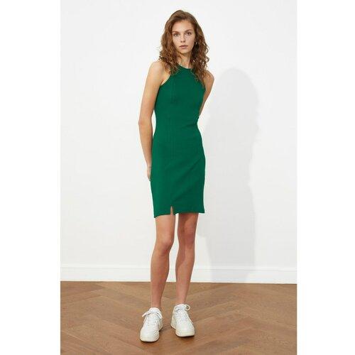 Trendyol Ženska pletena siva haljina zelena  Cene