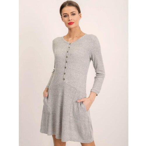 Fashionhunters Siva BSL haljina  Cene
