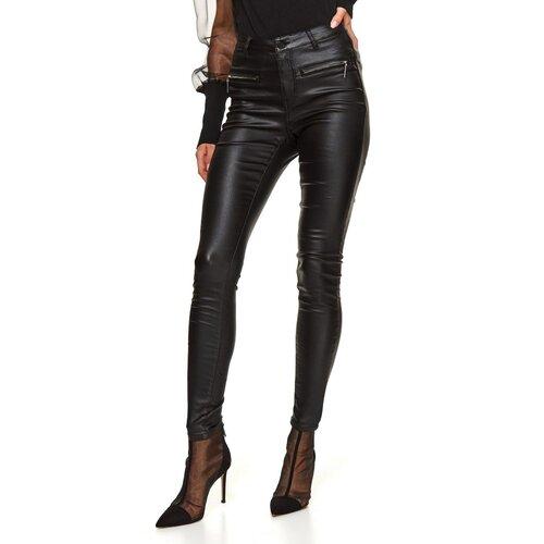 Top Secret Ženske pantalone Shiny black siva  Cene
