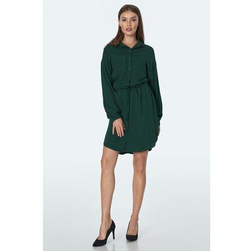 Nife Ženska haljina S163 zelena  Cene