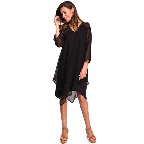 Stylove Ženska haljina S159 crna smeđa | pink  Cene