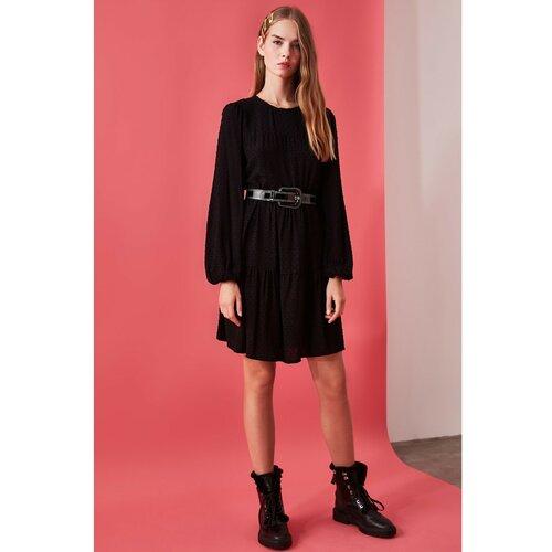 Trendyol crna haljina širokog kroja  Cene