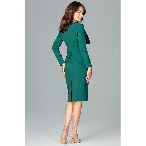 Lenitif Ženska haljina K491 siva zelena  Cene