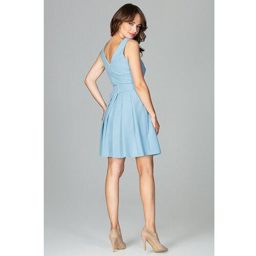 Lenitif Ženska haljina K487 svijetlo plava  Cene