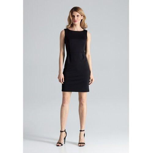 Figl Ženska haljina M079 crna | siva  Cene