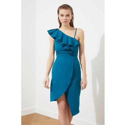 Trendyol Ženska haljina Envelop plava  Cene