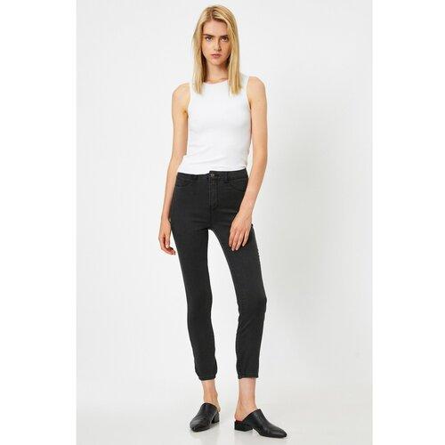 Koton Ženske sive traperice crne bijela  Cene