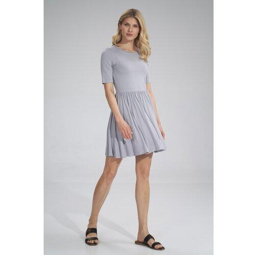 Figl Ženska haljina M751 siva  Cene