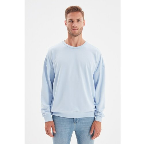 Trendyol Plava muška duks majica prekomjerne veličine  Cene
