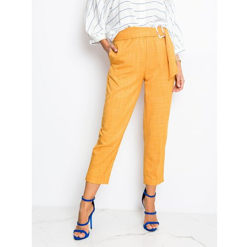 Fashionhunters Senfske ženske hlače iz RUE PARIS  Cene