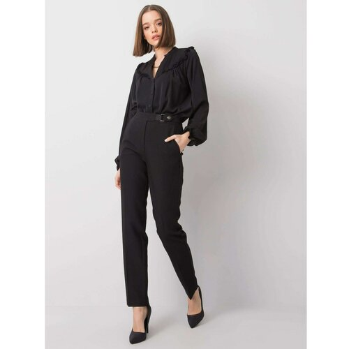 Fashionhunters AND BELLA Crne ženske pantalone  Cene