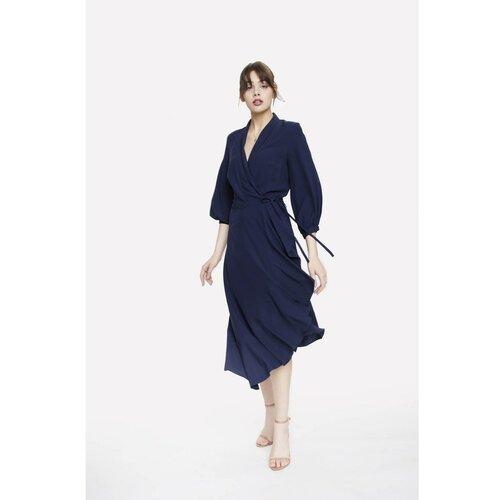 Seriously Ženska haljina Frida Navy Blue blue | krema  Cene