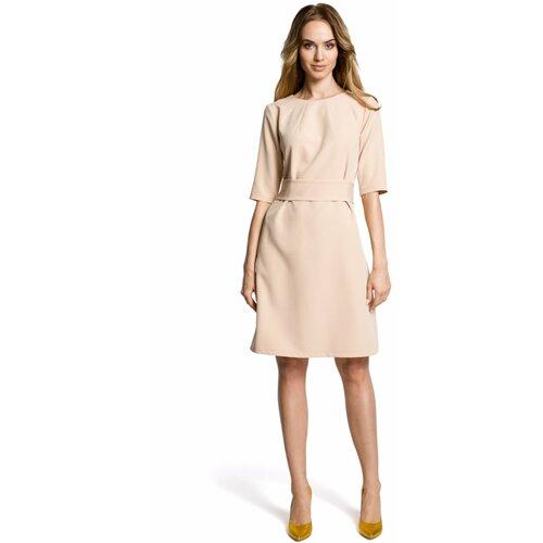 Made Of Emotion Woman's Dress M362 krem  Cene