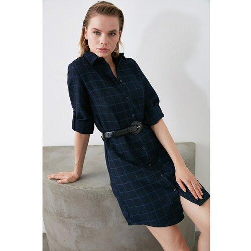 Trendyol Ženska haljina Košulja crna  Cene