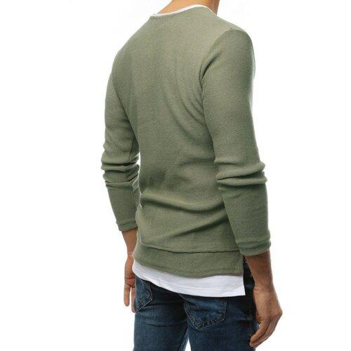 DStreet Khaki muški džemper WX1457 crna   stopala  Cene