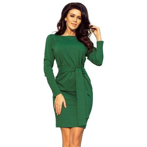 NUMOCO Ženska haljina 209 crna narandžasta zelena | Crveno  Cene