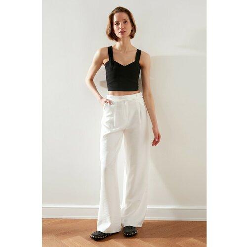 Trendyol Ekru Basic Pants krema  Cene
