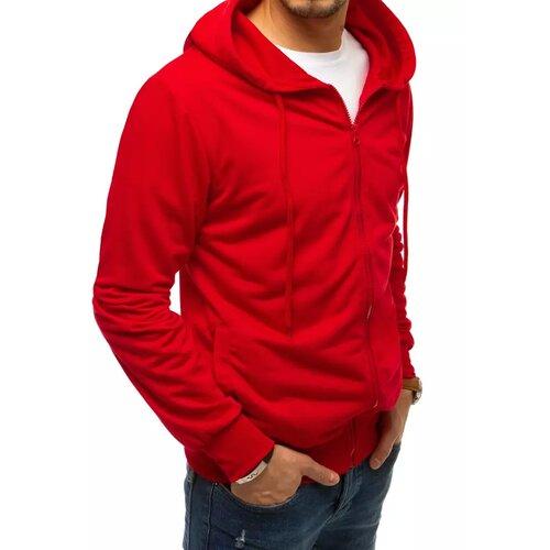 DStreet Muška crvena kapuljača sa patent zatvaračem BX4959 crvena  Cene