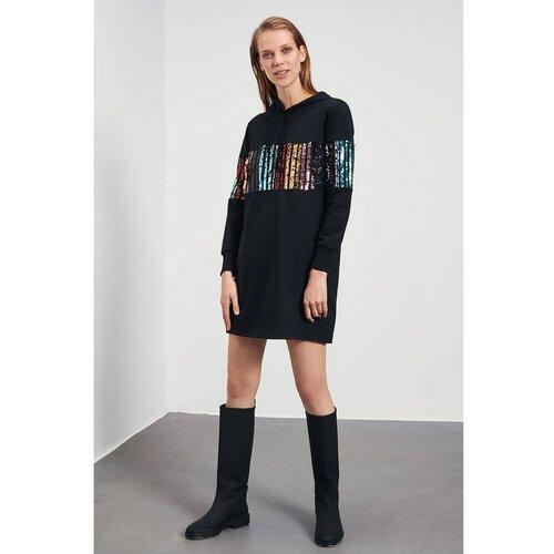 Trendyol Ženska haljina Pletene crne  Cene
