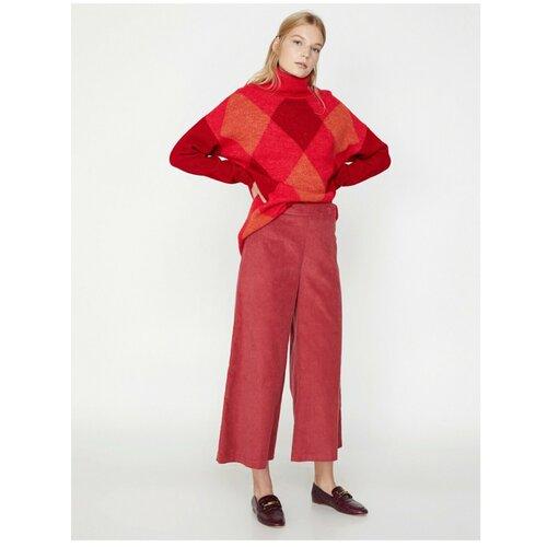 Koton Ženske, ležerne pantalone sa roze opremom  Cene
