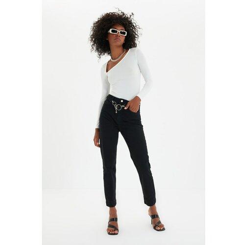 Trendyol Majice traperice s visokim strukom sa detaljima  Cene