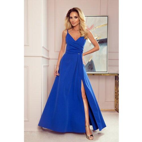 NUMOCO Ženska haljina 299 plava  Cene