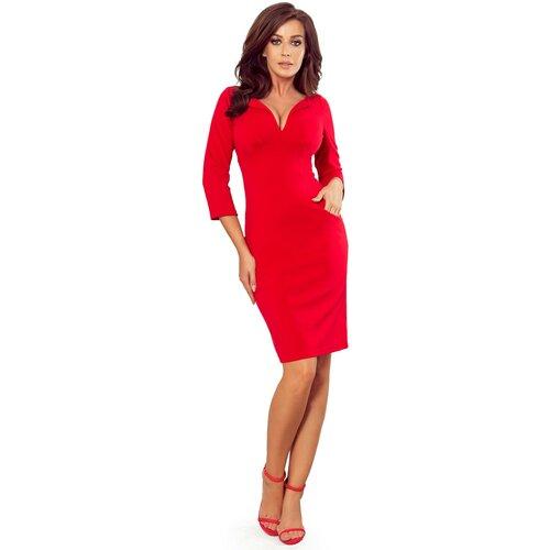 NUMOCO Ženska haljina 269 MISSY tamno crvena   Crveno  Cene