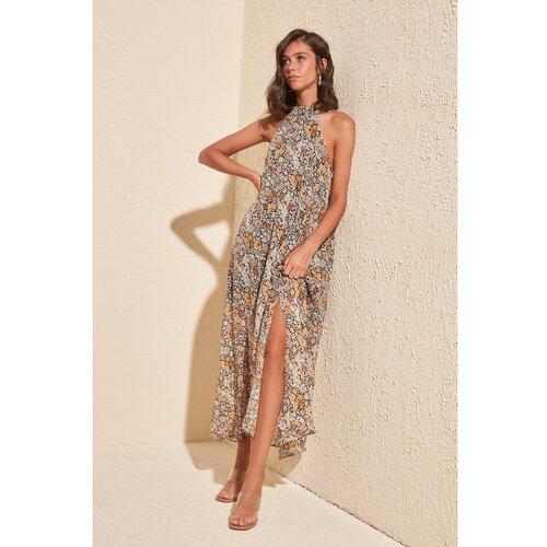 Trendyol Ženska haljina Višebojna smeđa krema  Cene