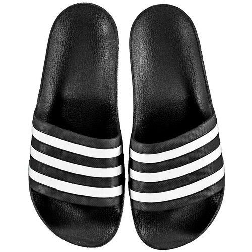 Adidas Muške papuče Duramo crne siva Slike