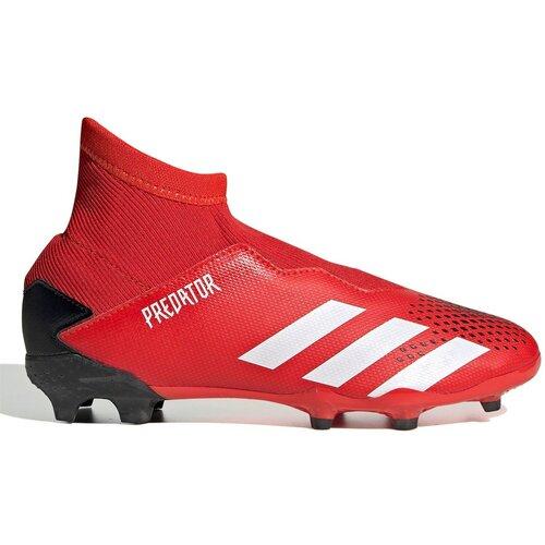 Adidas Dečije  kopačke Predator 20.3 Laceless siva | crvena Slike