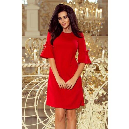 NUMOCO Ženska haljina 217 crna Crveno  Cene