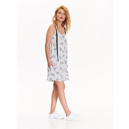 Top Secret Ženska haljina sa uzorkom bela   siva  Cene