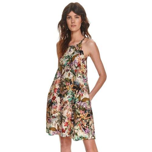 Top Secret Ženska haljina Patterned braon | krem  Cene