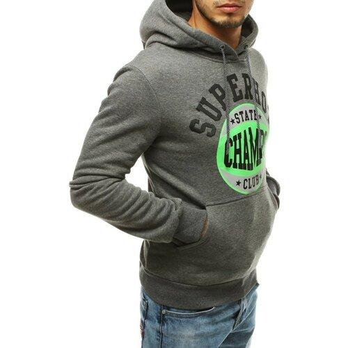 DStreet Tamno siva muška dukserica s kapuljačom BX4613 siva  Cene