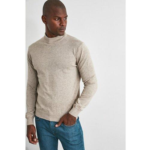 Trendyol Muški džemper Knitwear plava | siva | krem  Cene