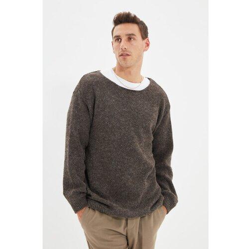 Trendyol Mink muški pleteni džemper sa širokim ovratnikom  Cene