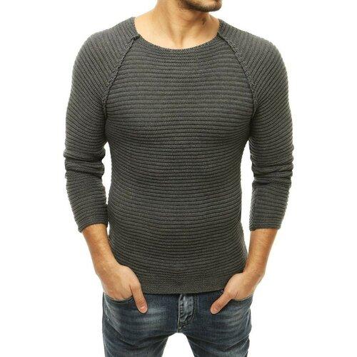 DStreet Muški džemper na izvlačenje antracit WX1660 siva  Cene