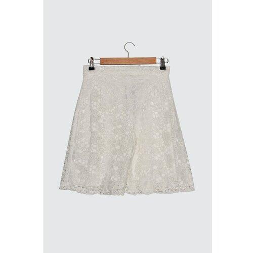 Trendyol Bijele kratke hlače i lijepi Bermudi   siva  Cene