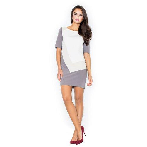 Figl Ženska haljina M118 bijela | siva | smeđa  Cene