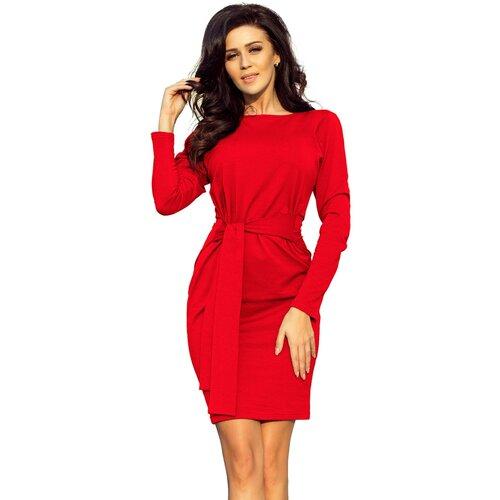 NUMOCO Ženska haljina 209 crna Crveno  Cene