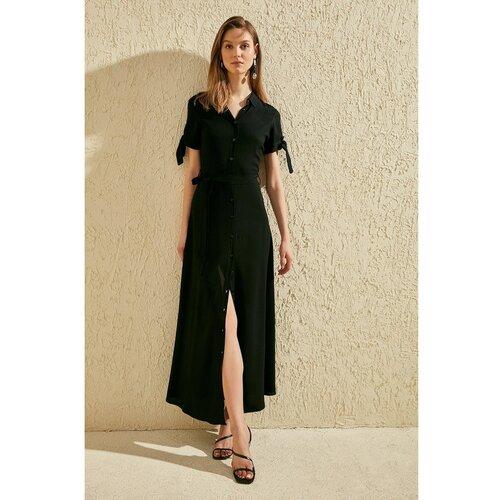 Trendyol Ženska haljina Majica haljina crna  Cene