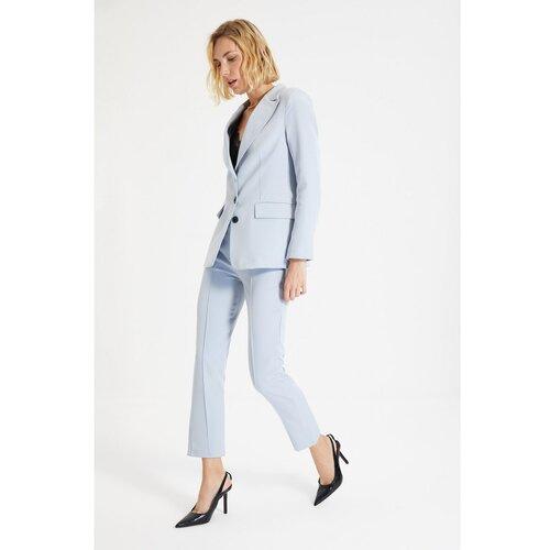 Trendyol Svijetloplave ravne hlače  Cene