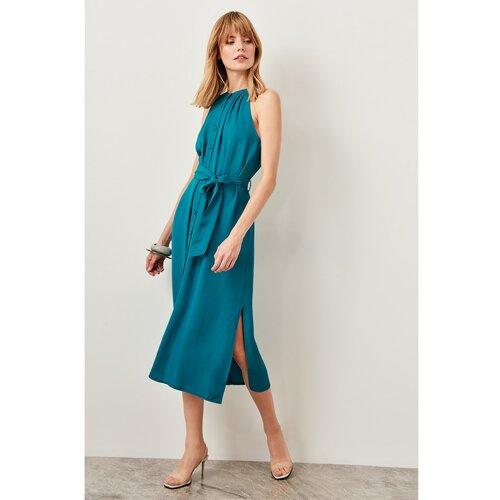Trendyol Ženska haljina Midi plava  Cene