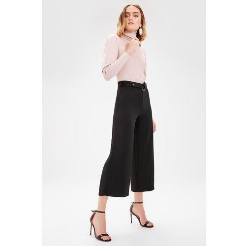 Trendyol crne vezene detaljne hlače  Cene