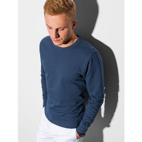 Ombre Clothing Men's sweatshirt B1153 plava | bela  Cene