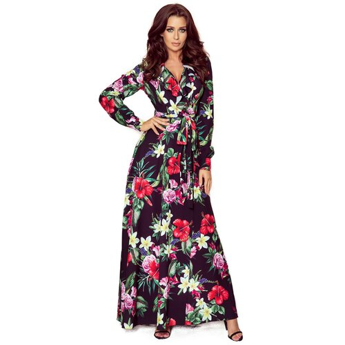 NUMOCO Ženska haljina 245 krem | Fuksija  Cene