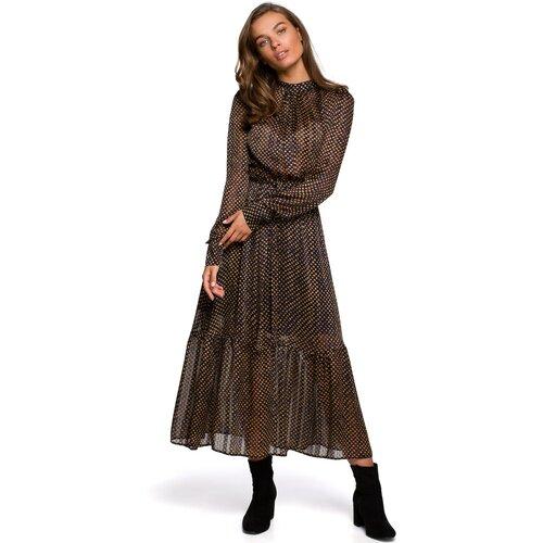 Stylove Ženska haljina S238 Model 3 crna   smeđa  Cene