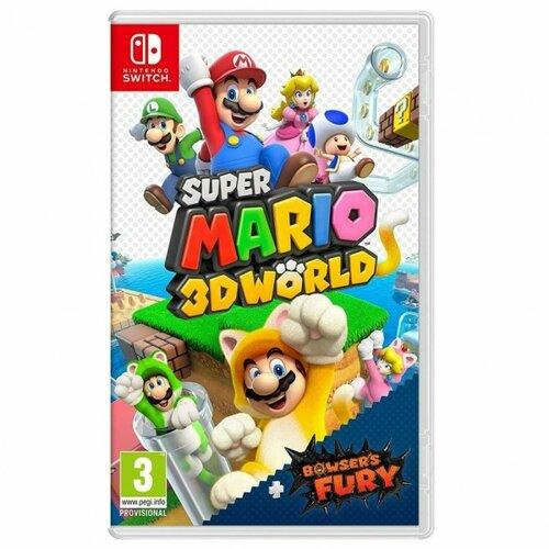 Nintendo video igra NSW SUPER MARIO 3D WORLD+BOWSERS FURY Slike